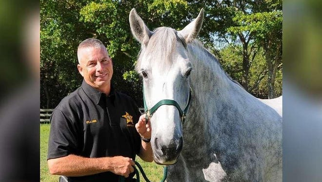 Palm Beach County Sheriff's deputy Rusty Lamm was supervisor of PBSO's horse patrol unit from 2015 to 2020.