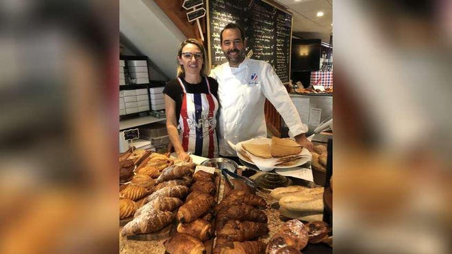 Christine and Vincent Durin are the proprietors of Vincent's Bistro, which offers French-style specialties on Lucerne Avenue in Lake Worth.