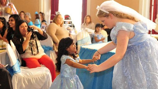 The Snow White Tea Party at the Cactus Hotel.