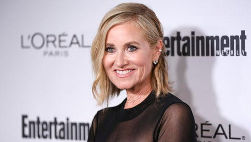 """FILE - In this Sept. 16, 2016 file photo, Maureen McCormick, who played the eldest daughter in the TV series, """"The Brady Bunch,"""" arrives at the 2016 Primetime Emmy Awards Entertainment Weekly Pre Party in Los Angeles. Florence Henderson, who was one of America's most beloved television moms, died, Thursday, Nov. 24, 2016, in Los Angeles. She was 82. Davis, who became the country's favorite and most famous housekeeper, died in 2014 at 88."""