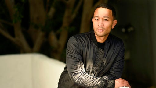 """In this Nov. 21, 2016 file photo, singer-songwriter John Legend poses for a portrait at the Sunset Marquis Hotel in West Hollywood, Calif. Legend will executive produce and lend his voice to the title character of the upcoming Baobab Studios series """"Rainbow Crow."""""""