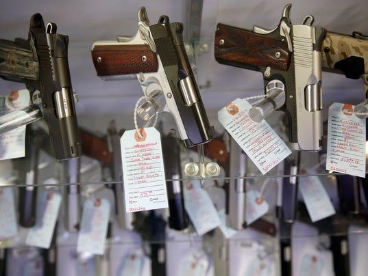AP STOLEN GUNS VIOLENCE A FILE USA MO