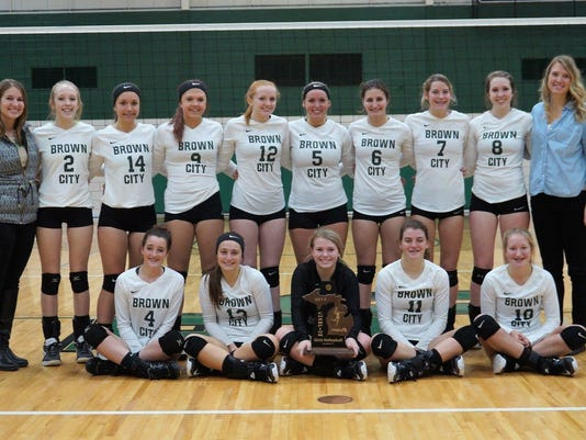Brown City volleyball