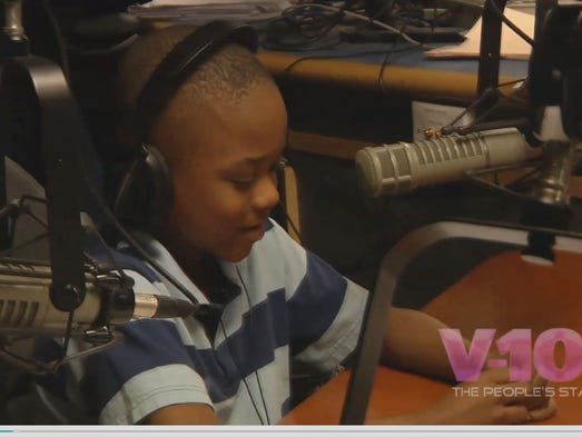 Willie Myrick got a big surprise on his 10th birthday