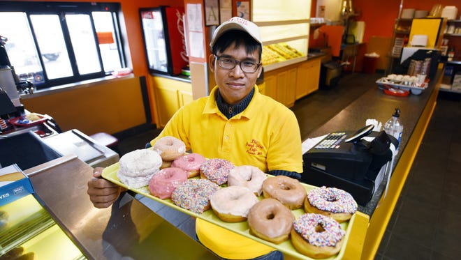 Owner Sopheap Meas, recently opened a new Do-Nut Shop and Cafe on County Line Road in Ridgeland.