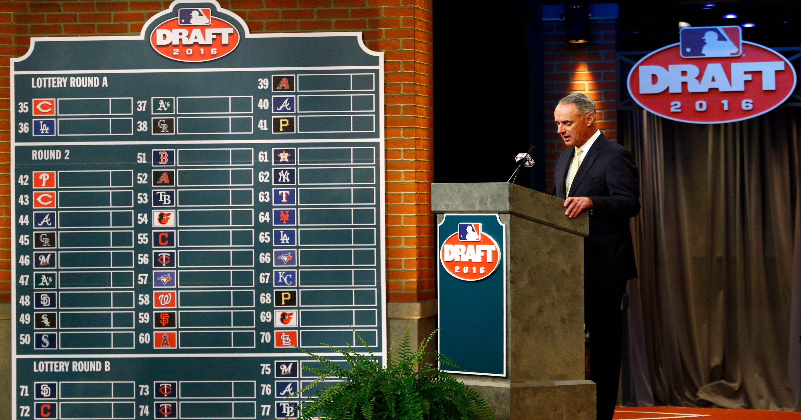 2019 MLB Draft order: Here's every pick from every round
