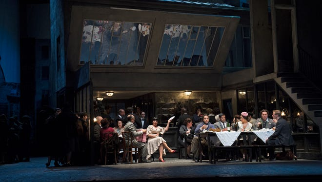"The Cincinnati Opera's production of Puccini's ""La Bohème."""