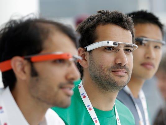 google i/o glass