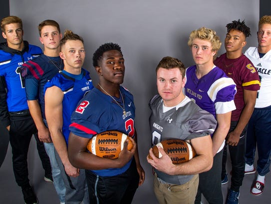 The eight nominees for the azcentral.com Sports Awards