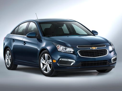 2015 Chevrolet Cruze Diesel compact car