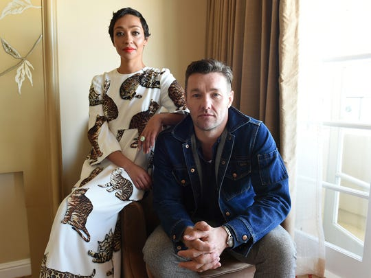 In this Oct. 22, 2016 photo, Ruth Negga, left, and