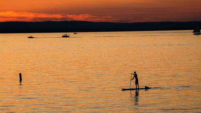 Lake Champlain at Oakledge Park in Burlington