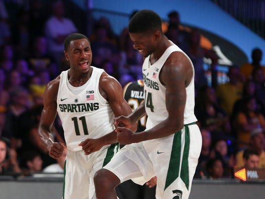 NCAA Basketball: Battle 4 Atlantis-Wichita State vs Michigan State