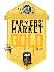 Farmers' Market Gold beer will be available at the Downtown Farmers' Market.