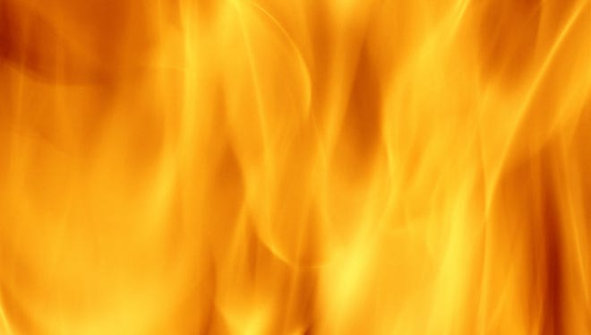 A file photo showing flames from a fire.