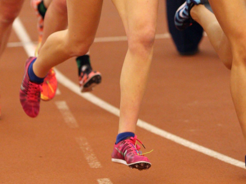 Girls indoor track
