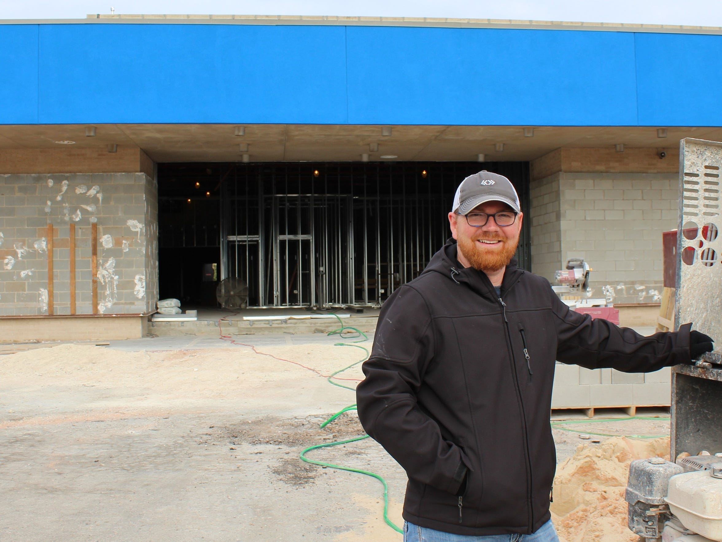 Kevin Peters, lead pastor of Radiant Life Church, expects the former Westwood Theatre to become his congregation's home in early spring.