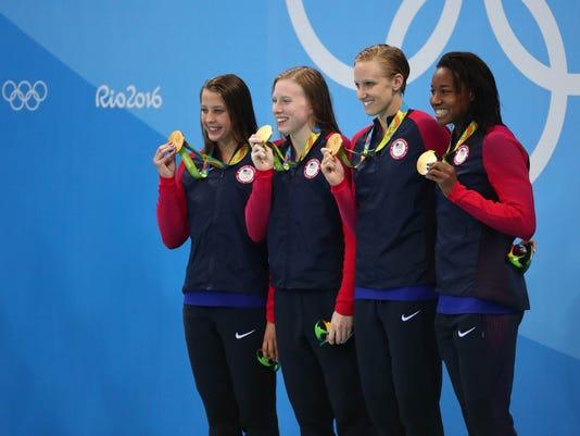 Olympics: Swimming
