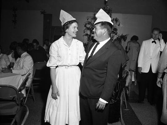 This what a New Year's Eve party looked like in 1959 in Tallahassee.