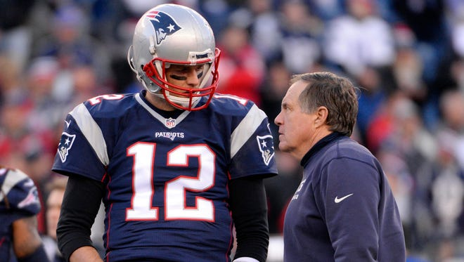 Tom Brady is about to begin his 16th season as Bill Belichick's starting QB.