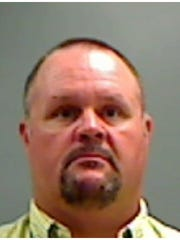 Booking photo of Mike Travis from Pottawattamie County
