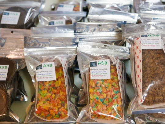A wide array of marijuana-infused edibles like these