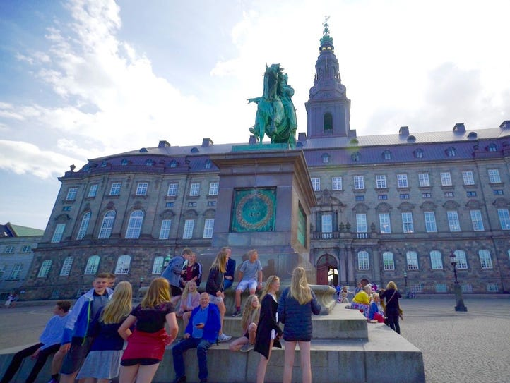 At about 500,000 square feet, Copenhagen's Christiansborg