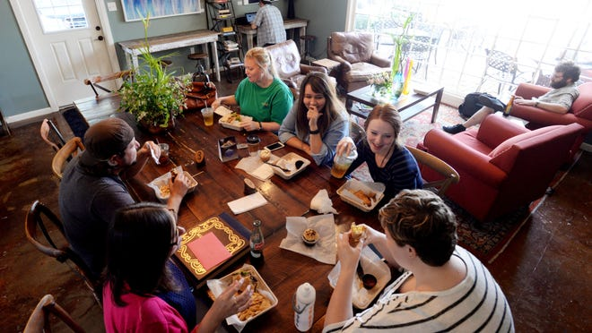 Rhino Coffee has become one of Shreveport's most popular spots for locals to meet and eat. The kitchen manager there says he enjoys food he likely wouldn't find at a chain restaurant.