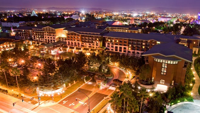 Disney's Grand Californian has it all - luxurious rooms, opulent lobby and an unbeatable location adjacent to California Adventure. It also has a price tag that puts it out of reach for most people.