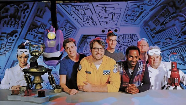 'Mystery Science Theater 3000' starring Jonah Ray,