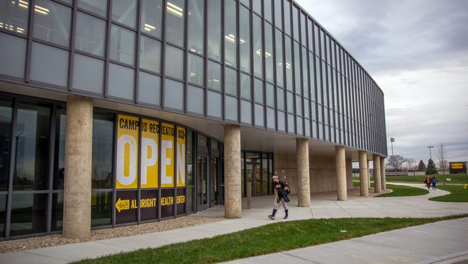 The 15-month expansion project for Northern Kentucky University's recreation center will come to completion for its grand opening Wednesday. Students have had the opportunity to continue using facilities during the building's expansion from 85 to 169 square feet.