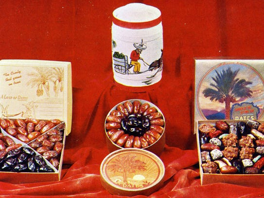 A selection of date products.