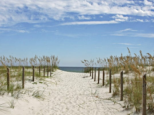This undated photo provided by the Franklin County Tourist Development Council shows St. George Island State Park in the Florida Panhandle. The beach was listed as No. 3 on the 2015 list of best beaches.