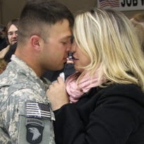 Top 14 kisses caught on camera for Valentine's Day in Clarksville