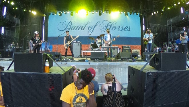 Band of Horses perform at the 2016 Bonnaroo Music & Arts Festival Saturday June 11, 2016 in Manchester, Tenn.
