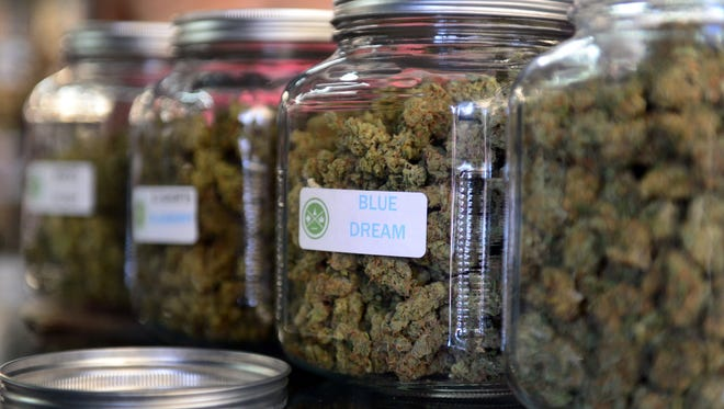 Marshall expects close to $100 million in investment from medical marijuana companies over the next few years. It's one of six Calhoun County municipalities to allow medical marijuana businesses inside their borders; 21 others have opted out.