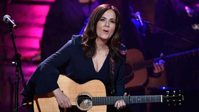 Lori McKenna performs at the Americana Music Honors & Awards on Sept. 13, 2017, at the Ryman Auditorium in Nashville.
