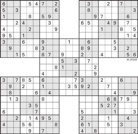 image relating to 16 Square Sudoku Printable titled Printable Sudoku Large-5