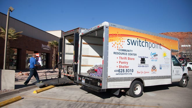 Switchpoint is holding a donation drive Oct. 11-13, 2018, in cooperation with Dixie LDS Singles.