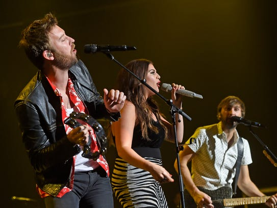 "Lady Antebellum performs at ""The Joint"" for ACM Party"