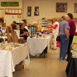 There were 20 vendors at the Dayton Senior Center craft fair and bake sale on April 5.