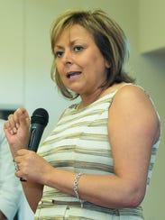 Gov. Susana Martinez's administration in 2013 froze