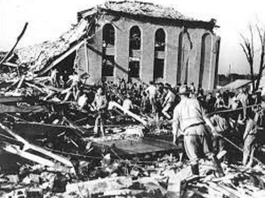 New London School Explosion March 18, 1937.