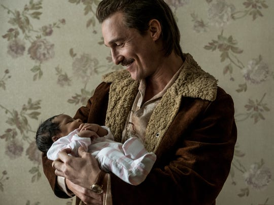 """Matthew McConaughey plays  Richard Wershe Sr. """"White Boy Rick,"""" which is inspired by a true story."""