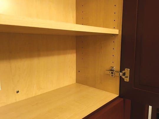Frameless cabinet