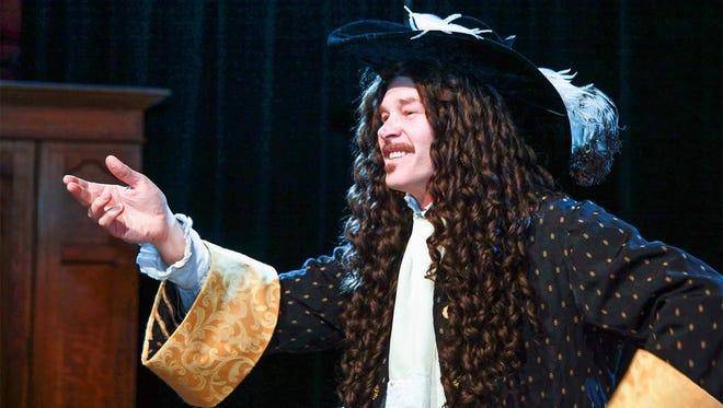 "Tom Challinor as Elliot, the actor, in ""Celadine."""