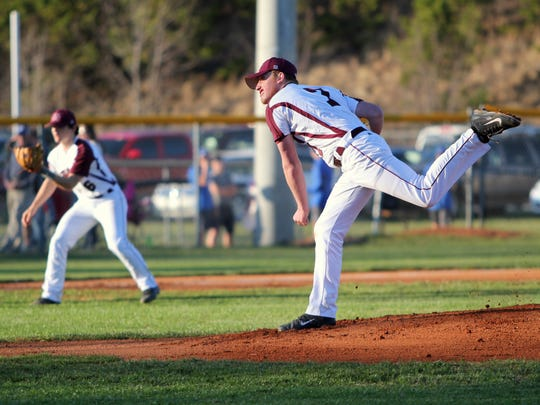Senior Thomas Neal has led the Warhorses in innings pitched with 21.2 through the first half of the season.