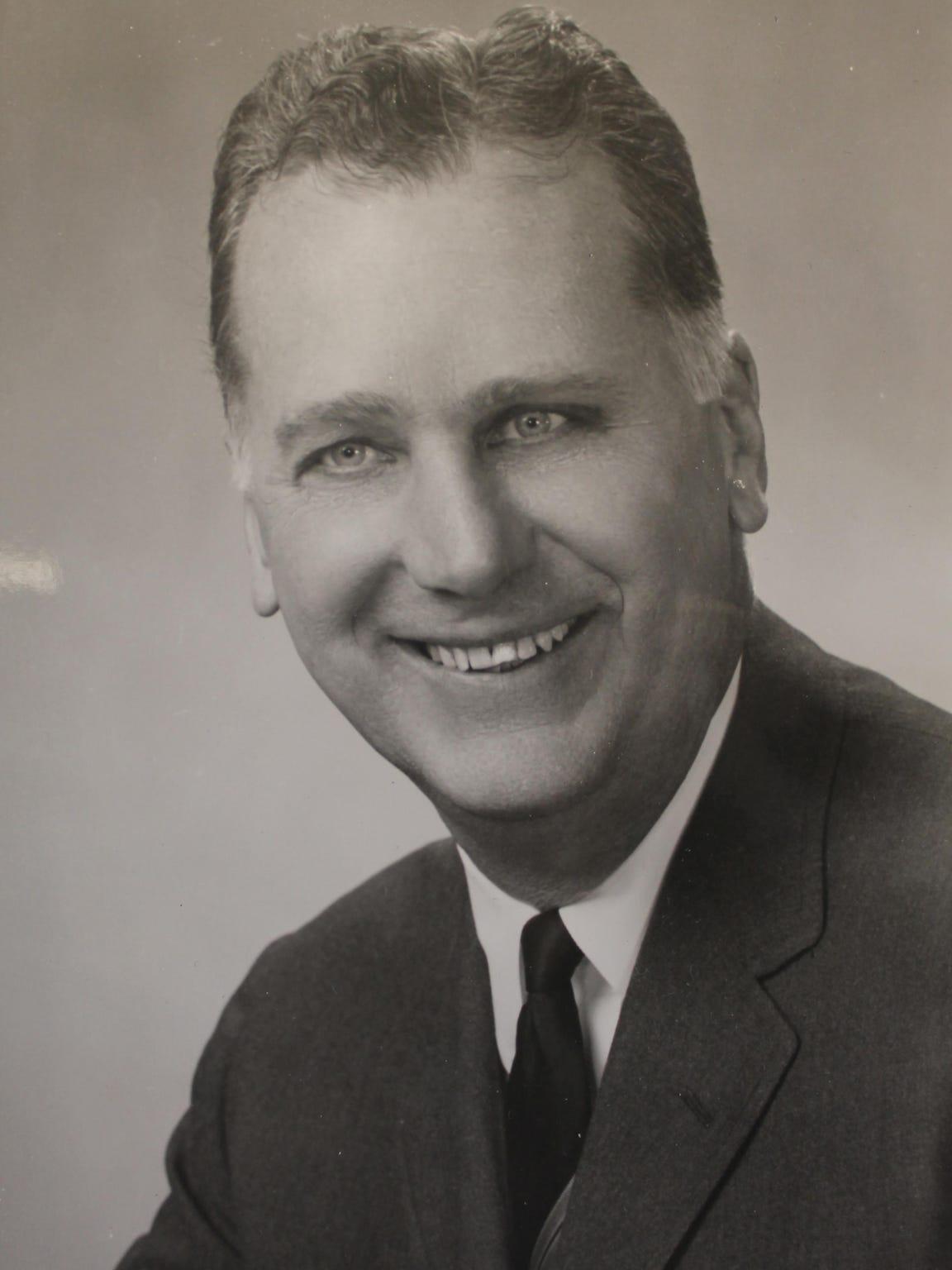 Coach Bob Vanatta appears in an undated photograph