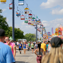 New Ferris wheel to give view from 15 stories up at Wisconsin State Fair in West Allis
