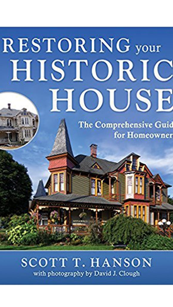 The Lady Linden, a Queen Anne style home from the Victorian era on York's Avenues built in 1887, is featured on the cover of a book by restoration expert Scott T. Hanson. The stately home is one of 13 featured in the book – the only home illustrated from Pennsylvania.